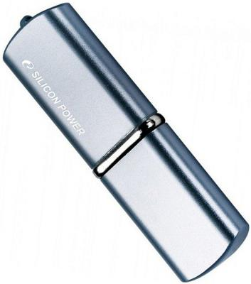 Внешний накопитель 8GB USB Drive <USB 2.0> Silicon Power LuxMini 720 Dark Blue usb флешка 32gb usb drive usb 2 0 silicon power luxmini 720 dark blue sp032gbuf2720v1d