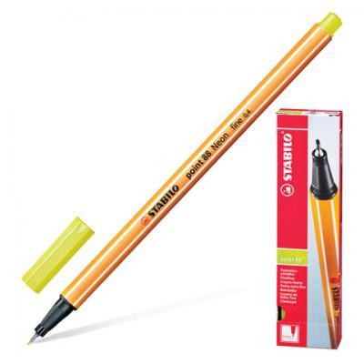 Капиллярная ручка капилярный Stabilo Point 88 желтый 0.4 мм
