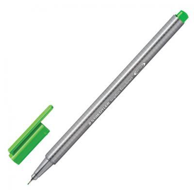 Капиллярная ручка капилярный Staedtler Triplus Fineliner салатовый 0.3 мм капиллярная ручка капилярный staedtler triplus fineliner салатовый 0 3 мм