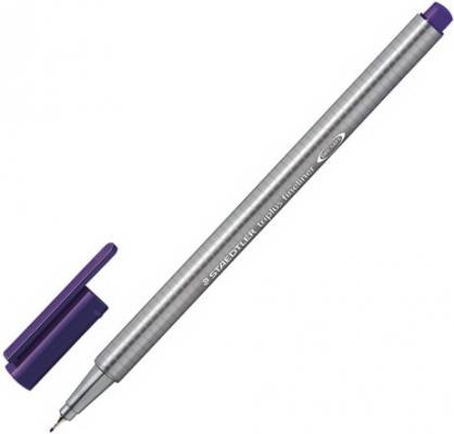 Ручка капиллярная STAEDTLER Triplus Fineliner, ТАБАК, трехгранная, линия письма 0,3 мм, 334-77 капиллярная ручка капилярный staedtler triplus fineliner салатовый 0 3 мм