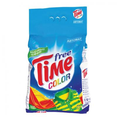 Стиральный порошок FREE TIME Color 3кг