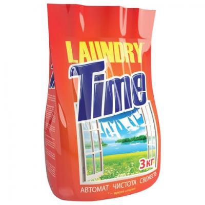 Стиральный порошок-автомат 3 кг, LAUNDRY TIME (Лондри Тайм)