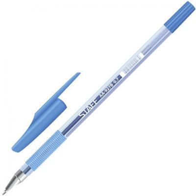 Ручка шариковая шариковая STAFF AA-927 синий 0.5 мм ручка beifa шариковая синяя aa 927 пластик 0 5 мм