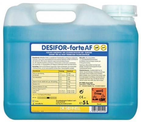 Средство дезинфицирующее DR.SCHNELL DESIFOR-forte AF 5л