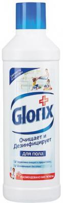 """Средство для мытья пола 1 л, GLORIX (Глорикс) """"Свежесть Атлантики"""", дезинфицирующее"""