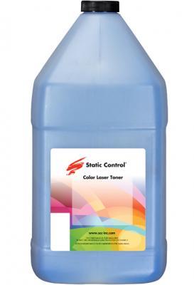 Фото - Тонер Static Control KYTK5240-1KG-C голубой флакон 1000гр. для принтера Kyocera Ecosys-P5026/M5526 тонер static control hp1515 40b c для hp cljcp1215 1515 1518 голубой 40гр