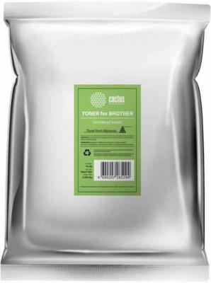 цены Тонер Cactus CS-TBRU-1000B черный пакет 1000гр. для принтера Brother Universal