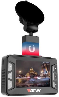 Видеорегистратор с радар-детектором Artway COMBO MD-106 GPS черный видеорегистратор с радар детектором artway md 108 signature 3 в 1 super fast gps черный