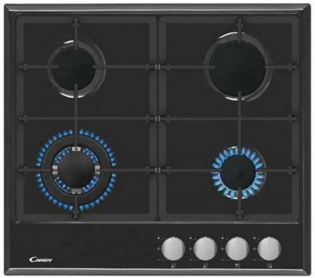 Газ, 59х51х3 см, Газ-контроль. Автоматический электроподжиг, чугунные решетки, черный