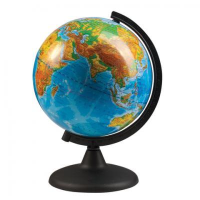 Фото - Глобус физический, диаметр 210 мм (Россия) глобус физический глобусный мир 250 мм 10160 бирюзовый