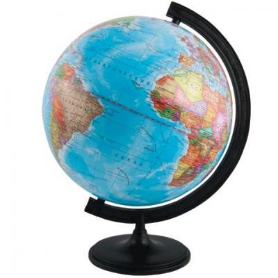 Купить Глобус политический, диаметр 320 мм, ГЛОБУСНЫЙ МИР, Глобусы