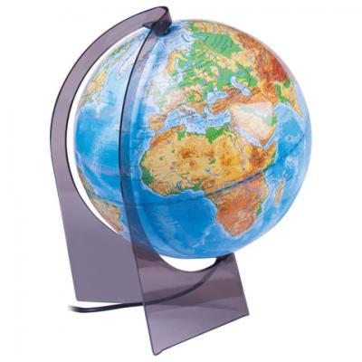 Фото - Глобус физический, диаметр 210 мм, с подсветкой глобус физический глобусный мир 250 мм 10160 бирюзовый