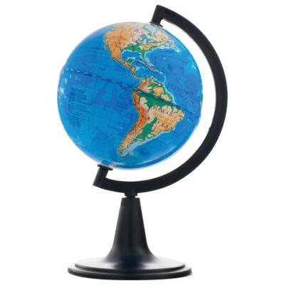Фото - Глобус физический, диаметр 120 мм, 10001 глобус физический глобусный мир 250 мм 10160 бирюзовый