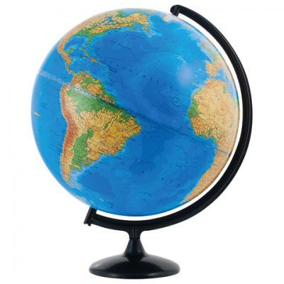 Фото - Глобус физический, диаметр 420 мм (Россия), 10322 глобус физический глобусный мир 250 мм 10160 бирюзовый
