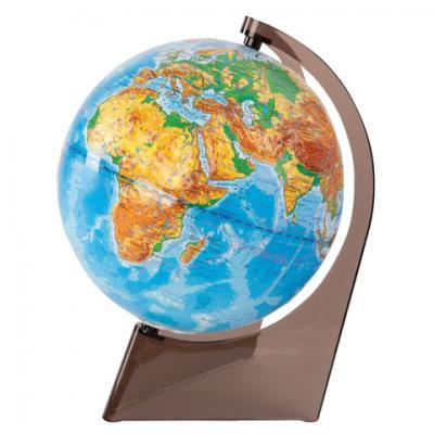 Глобус физический, диаметр 210 мм, рельефный, 10275 глобусный мир глобус с физической картой рельефный диаметр 25 см на деревянной подставке