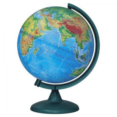 Фото - Глобус физический диаметр 250 мм, 10160 глобус физический глобусный мир 250 мм 10160 бирюзовый