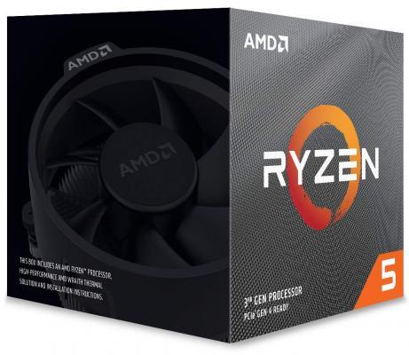 Фото - Процессор AMD Ryzen 5 3600X AM4 (100-100000022BOX) (3.8GHz) Box процессор amd ryzen 5 3600x socketam4 oem [100 000000022]