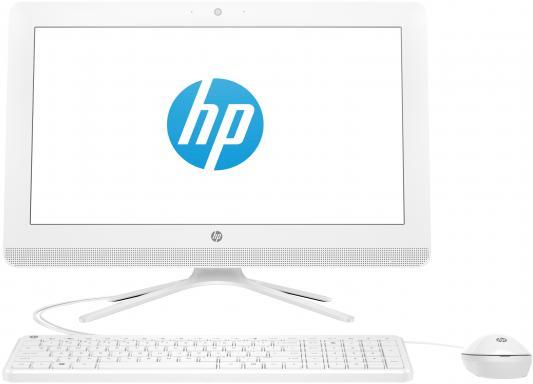 "HP 20-c420ur AiO   19.5""(1920x1080)/Intel Celeron J4005(2Ghz)/4096Mb/500Gb/noDVD/Int:Intel HD Graphics 600/Cam/BT/WiFi/war 1y/4.4kg/Snow White/W10 + USB KBD, USB MOUSE"