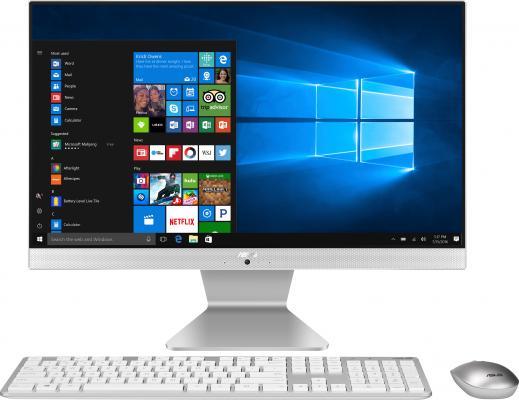 """Моноблок Asus V222GAK-WA067T 21.5"""" Full HD P J5005 (1.5)/4Gb/SSD128Gb/UHDG 605/Windows 10 64/GbitEth/WiFi/BT/65W/клавиатура/мышь/Cam/белый 1920x1080"""