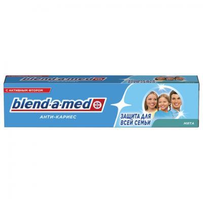 Зубная паста, 100 мл, BLEND-A-MED (Бленд-а-Мед) Анти-кариес Мята тонометр b well med 57