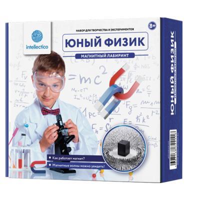 """Набор для экспериментов INTELLECTICO """"Юный физик. Магнитный лабиринт"""" 211"""