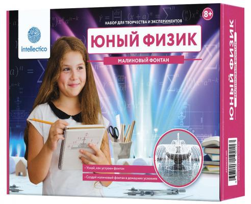 "Набор для экспериментов INTELLECTICO ""Юный физик. Малиновый фонтан"" 209"