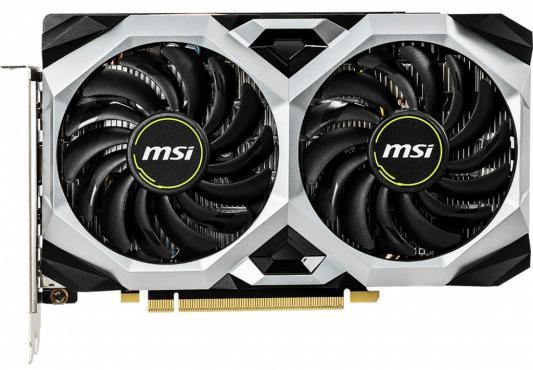 Видеокарта MSI GeForce GTX 1660 Ti VENTUS XS PCI-E 6144Mb GDDR6 192 Bit Retail (GTX 1660 TI VENTUS XS 6G) видеокарта msi geforce gtx 1660 super ventus oc 1530mhz pci e 3 0 6144mb 14000mhz 192 bit hdmi 3xdp