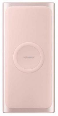 лучшая цена Внешний аккумулятор Power Bank 10000 мАч Samsung EB-U1200 розовое золото EB-U1200CPRGRU