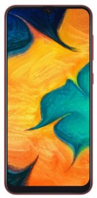 Смартфон Samsung Galaxy A30 64 Гб красный (SM-A305FZROSER) смартфон samsung galaxy j3 2016 8 гб черный sm j320fzkdser