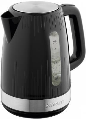 Чайник электрический Scarlett SC-EK18P51 2200 Вт чёрный 1.7 л пластик чайник электрический element el kettle 2200 w