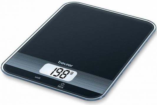 Фото - Весы кухонные Beurer KS19 чёрный весы кухонные beurer ks19 sequence рисунок