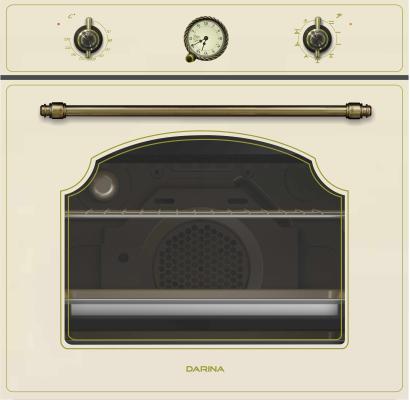 Духовой шкаф Электрический Darina 2V8 BDE 112 707 Bg бежевый цена и фото