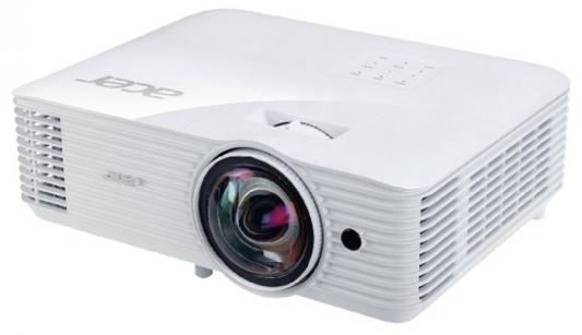 Фото - Проектор Acer S1286H DLP 3500Lm (1024x768) 20000:1 ресурс лампы:4000часов 1xHDMI 3.1кг мультимедийный проектор acer c101i mr jq411 001 dlp 150lm 1200 1 20000час 1xhdmi