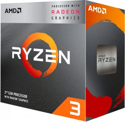 Фото - Процессор AMD Ryzen 3 3200G AM4 (YD3200C5FHBOX) (3.6GHz/Radeon Vega 8) Box процессор amd ryzen 3 1300x box