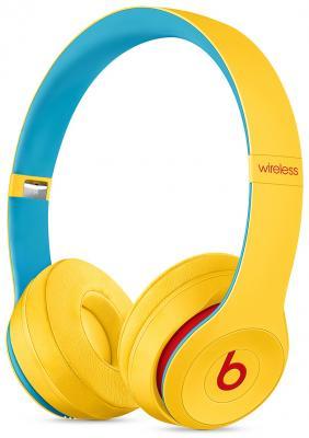 Фото - Гарнитура Apple Beats Solo3: Beats Club желтый MV8U2EE/A наушники beats solo3 club collection желтый