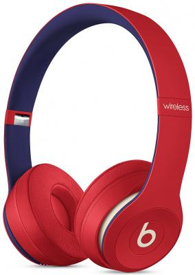 Фото - Гарнитура Apple Beats Solo3: Beats Club красный MV8T2EE/A наушники beats solo3 club collection желтый