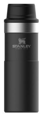 Термокружка Stanley The Trigger-Action Travel Mug 0,47л чёрный 10-06439-031 stanley the trigger action travel mug черный