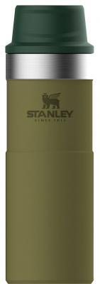 Термокружка Stanley The Trigger-Action Travel Mug 0,47л оливковый 10-06439-034