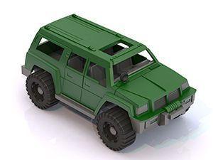 Купить Джип Тайфун 11x13, 5x26 см, best toys, Детские модели машинок
