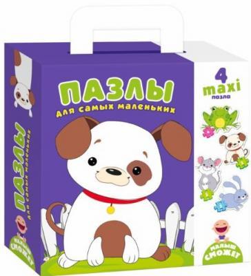 Купить Пазлы для самых маленьких Собачка 250*180*50 мм, best toys, Пазлы для малышей