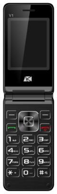 Мобильный телефон ARK V1 черный телефон