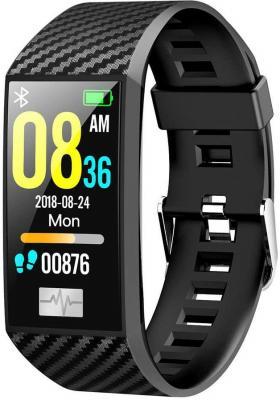 цена на Смарт-браслет Smarterra Fitmaster Pulsar IPS корп.:черный рем.:черный (FMPBL)