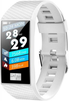 цена на Смарт-браслет Smarterra Fitmaster Pulsar IPS корп.:белый рем.:белый (FMPWT)