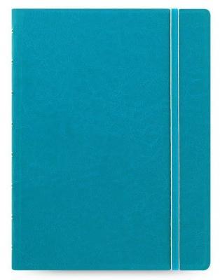 Тетрадь Filofax CLASSIC BRIGHT 115012 A5 PU 56л линейка съемные листы спираль двойная бирюзовый