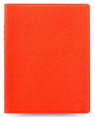 Тетрадь Filofax SAFFIANO 115059 A5 PU 56л линейка съемные листы спираль двойная оранжевый спираль sru 58