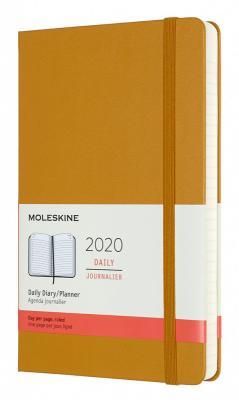 Картинка для Ежедневник Moleskine CLASSIC Large 130х210мм 400стр. фиксирующая резинка желтая спелая дыня