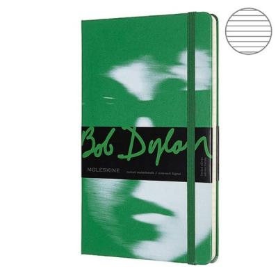 Блокнот Moleskine LIMITED EDITION BOB DYLON LEBDQP060A Large 130х210мм 240стр. линейка зеленый huntingtower large print edition