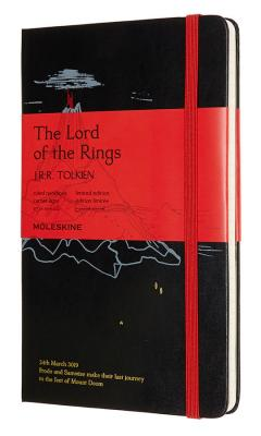 Блокнот Moleskine LIMITED EDITION LORD OF THE RINGS LELRQP060MD Large 130х210мм 240стр. линейка черный Mt. Doom lord dunsany don rodriguez chronicles of shadow valley large print edition