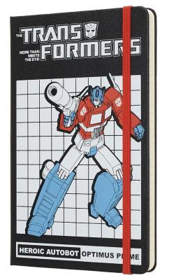 Блокнот Moleskine LIMITED EDITION TRANSFORMERS LETFQP060OP Large 130х210мм 240стр. линейка OPTIMUS PRIME huntingtower large print edition