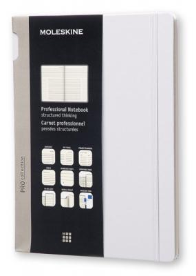 Картинка для Блокнот Moleskine PROFESSIONAL PROPFNTB4HG24 190х250мм 192стр. твердая обложка серый